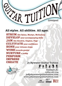 Jo Bywater Guitar Tuition