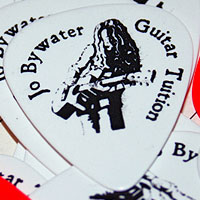 Jo Bywater Guitar Tuition Custom Plectrums